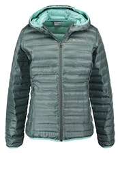 Columbia Flash Forward Down Jacket Pond Spray Oliv