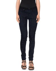 Hudson Denim Denim Trousers Women Black