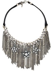 Emanuele Bicocchi Fringed Star Necklace Metallic