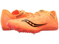 Saucony Endorphin Vizi Orange Black Men's Running Shoes