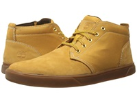 Timberland Groveton Leather And Fabric Chukka Wheat Nubuck Canvas 1 Men's Shoes Gold