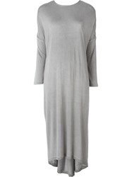 Unconditional Oversized Jersey Dress Grey