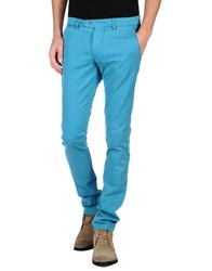 Berwich Trousers Casual Trousers Men Turquoise