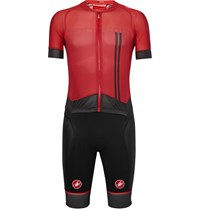 Castelli San Remo 3.2 Speed Suit Red