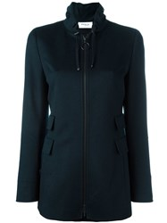 Akris Zipped Jacket Blue
