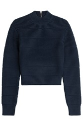 Marc By Marc Jacobs Merino Wool Pullover Blue