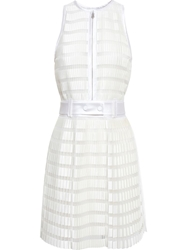 3.1 Phillip Lim Pleated Dress With Fabric Belt Nude And Neutrals