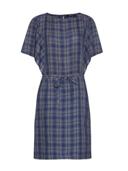 A.P.C. Kentucky Plaid Linen Dress