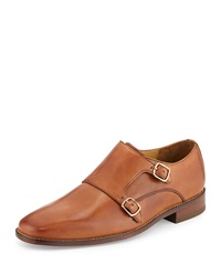 Cole Haan Giraldo Monk Strap Loafer British Tan