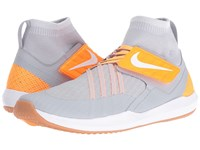 Nike Train Dynamic Wolf Grey White Pure Platinum Bright Citrus Men's Cross Training Shoes