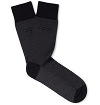 Hugo Boss Cotton Blend Socks Black