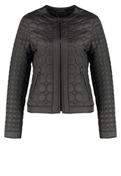 Dawn Levy Susan Light Jacket Charcoal Anthracite