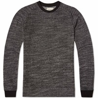 Oliver Spencer Highgrove Crew Knit Charcoal