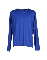 Private Lives Topwear T Shirts Men Blue
