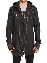 Karl Lagerfeld Print Camouflage Othello Rain Coat