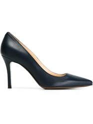 L'autre Chose Mid Heel Pumps Blue