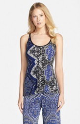 In Bloom By Jonquil Tapestry Print Camisole Multi Sapphire