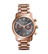 Michael Kors Pennant Rose Gold Tone Watch