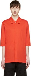 Paul Smith Red Oversized Polo
