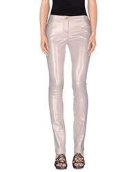 Class Roberto Cavalli Denim Denim Trousers Women Beige