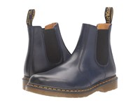 Dr. Martens 2976 Chelsea Boot Navy Antique Temperley Lace Up Boots