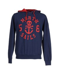 North Sails Topwear Sweatshirts Men Blue