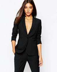 Reiss Vara Tailored Blazer Black