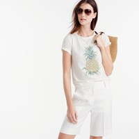 J.Crew Botanical Pineapple T Shirt