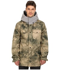 Oakley Division 2 Biozone Insulated Jacket Herb Smoke Men's Coat