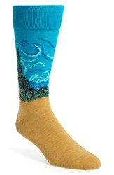 Hot Sox Men's 'Artist Series Wheat Field' Socks