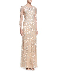 Jewel Embroidered Tulle Illusion Gown Jenny Packham