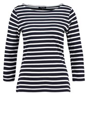 More And More Long Sleeved Top Marine Blue