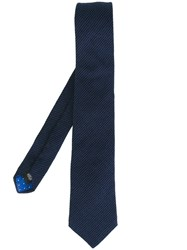 Paul Smith Textured Tie Blue