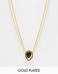 Ottoman Hands Onyx Layering Necklace