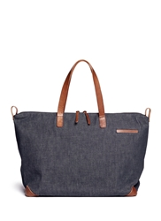 Seventy Eight Percent 'Eli' Oversized Denim Tote