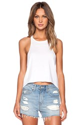 Ever Hannah Muscle Tank White