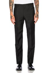 Givenchy Wool Mohair Trousers In Black
