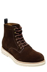 Cole Haan Men's 'Cortland Grand' Plain Toe Boot Chestnut Leather
