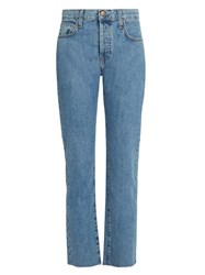 Current Elliott The Original Straight Leg Jeans Denim