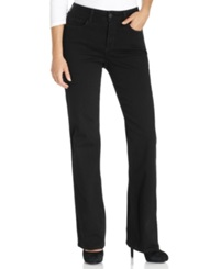 Nydj Barbara Bootcut Jeans Black Wash