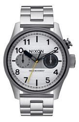 Nixon 'Safari Deluxe' Bracelet Watch 43Mm