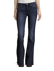 7 For All Mankind Five Pocket Bootcut Jeans Blue