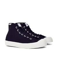Novesta Star Dribble Hi Plimsoll Black
