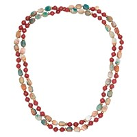 Lola Rose Adah Necklace Red Quartz Agate
