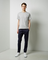 Acne Studios Max Twill Trousers Navy