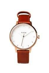 Nixon The Kensington Leather Brown