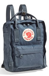 Fjall Raven Fj Llr Ven 'Mini K Nken' Water Resistant Backpack Grey Graphite