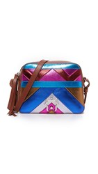 Paula Cademartori Didi Cross Body Bag Geo Multi