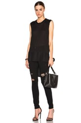 Rag And Bone Rag And Bone Riley Sleeveless Top In Black