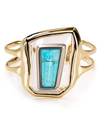 Alexis Bittar Lucite Floating Kite Cuff Clear